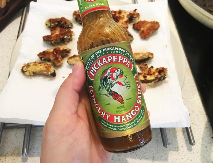Sauce in a bottle!